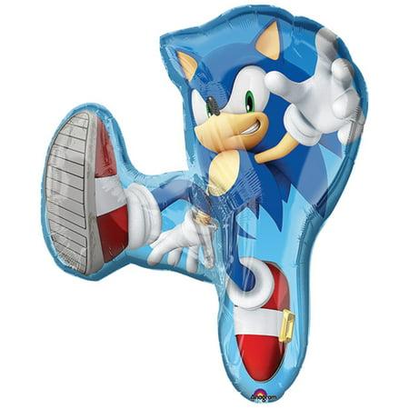 Sonic The Hedgehog Super Shape Foil / Mylar Balloon 33