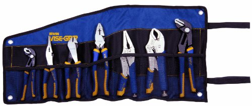 Vise Grip 1802537 7 Piece Irwin Traditional And Locking Pliers Set by Vise Grip