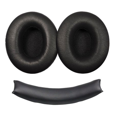 Eeekit Replacement Ear Pads Earpad Cushion Cup Cover W  Headband Cushion For Monster Beats Dr  Dre Studio 1 0 Headphones