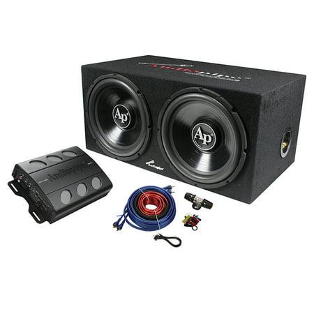 Audiopipe APSB1299PP Super Bass Combo pack 600W Max Dual 12