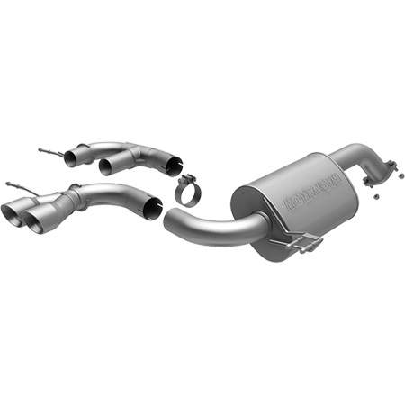 MagnaFlow 12 Hyundai Veloster Dual Center Rear Exit Stainless Cat Back Performance Exhaust