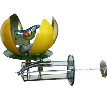 Alexander Taron Collectible Decorative Tin Toy Spinning Egg - Decorative Tins