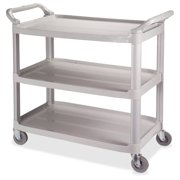 "Impact Products 3-shelf Bussing Cart 3 Shelf 200 Lb Capacity 4"" Caster Size[s] 40"" Length X 20"" Width X... by Layflat & Impact"