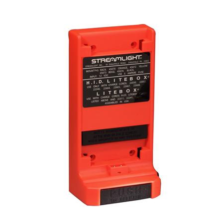 Streamlight Orange Standard Mounting Rack System for E-Flood Litebox Flashlight - 45070