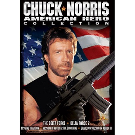 Chuck Norris American Hero Collection (DVD)