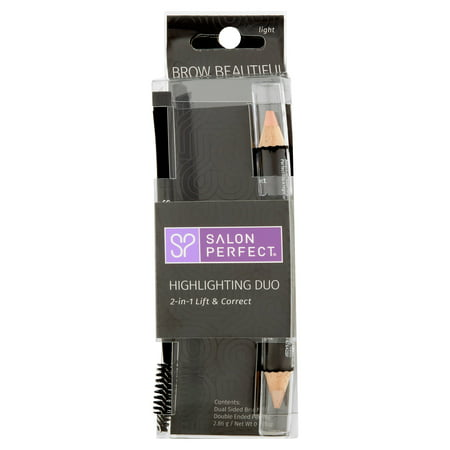 - Salon Perfect Brow Beautiful Light Highlighting Duo Eyebrow Pencil, 0.10 oz