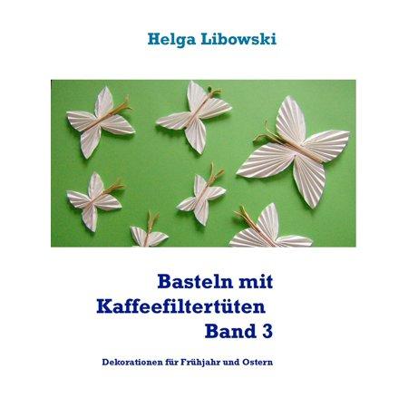Basteln mit Kaffeefiltertüten - Band 3 - eBook - Halloween Basteln