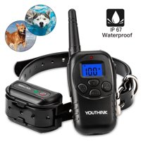 Deep Waterproof & Rechargeable Dog Training Collar, Vibra and Shock Electronic Collar