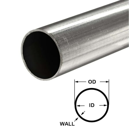 304 Stainless Steel Round Tube, 3/4