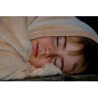 Canvas Print Blanket Night Sleep Sleeping Child Girl Tired Stretched Canvas 10 x 14