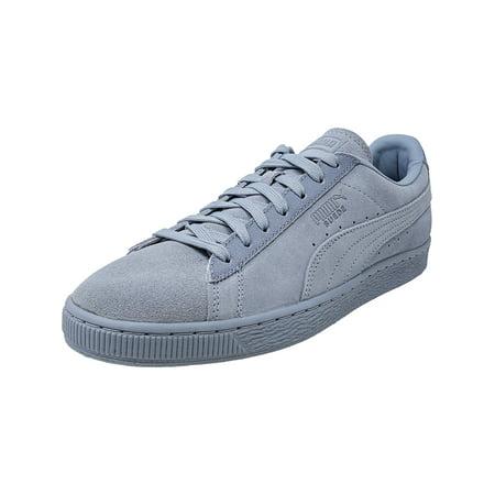 2a605305771b PUMA - Puma Men s Classic Tonal Suede Blue Fog Ankle-High Fashion Sneaker -  11.5M - Walmart.com