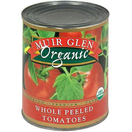 Organic Diced Tomatoes - Muir Glen Organic Whole Peeled Tomatoes, 28 oz (Pack of 12)