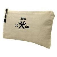 "12-1/8"" General Purpose Tool Bag, White"