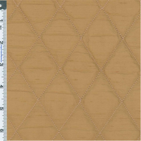 Copper Quilted Silk Dupioni Drapery Fabric, Fabric Sold By the - Fabric Dupioni Silk Fabric