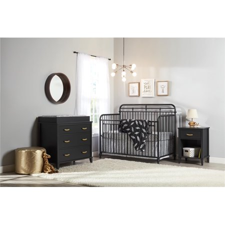 Little Seeds Monarch Hill Hawken 3 in 1 Convertible Metal Crib, Multiple Colors