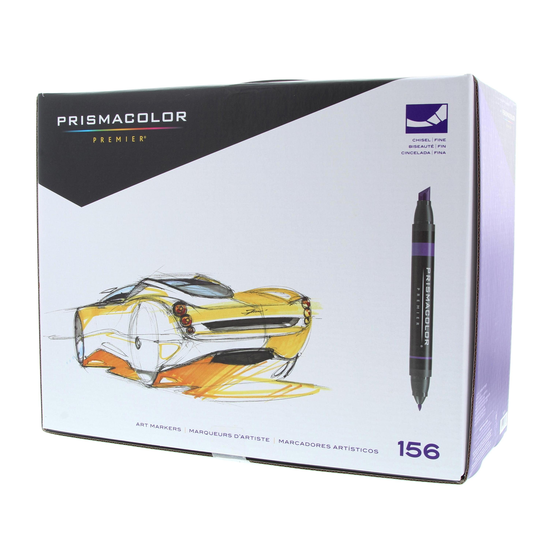 Prismacolor Premier Double Ended Art Marker Set Chisel Fine 156 Colors Walmart Com