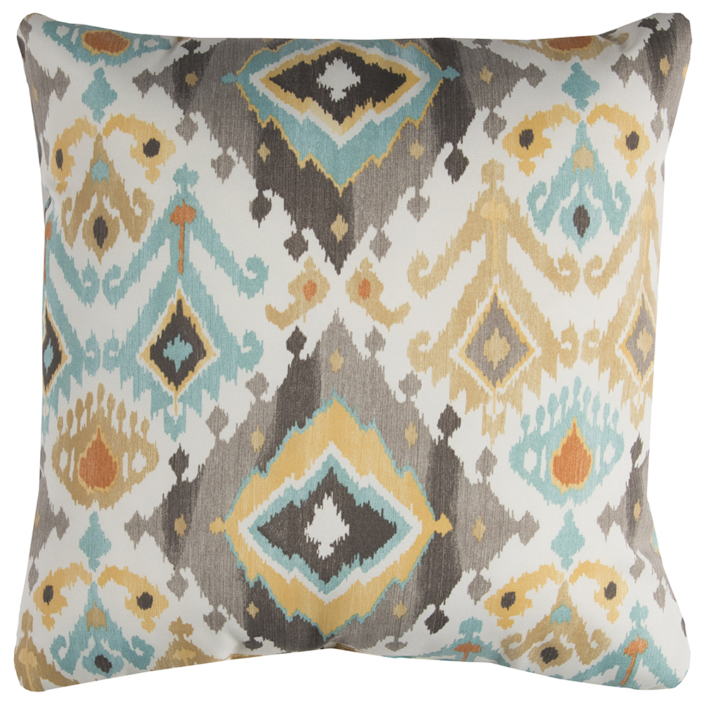 "Rizzy Home TFV074 22"" x 22""  Indoor/ Outdoor Pillow"