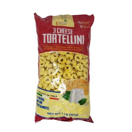 Food with Purpose 3 Cheese Tortellini All Natural, 15 Servings, From Italy 2