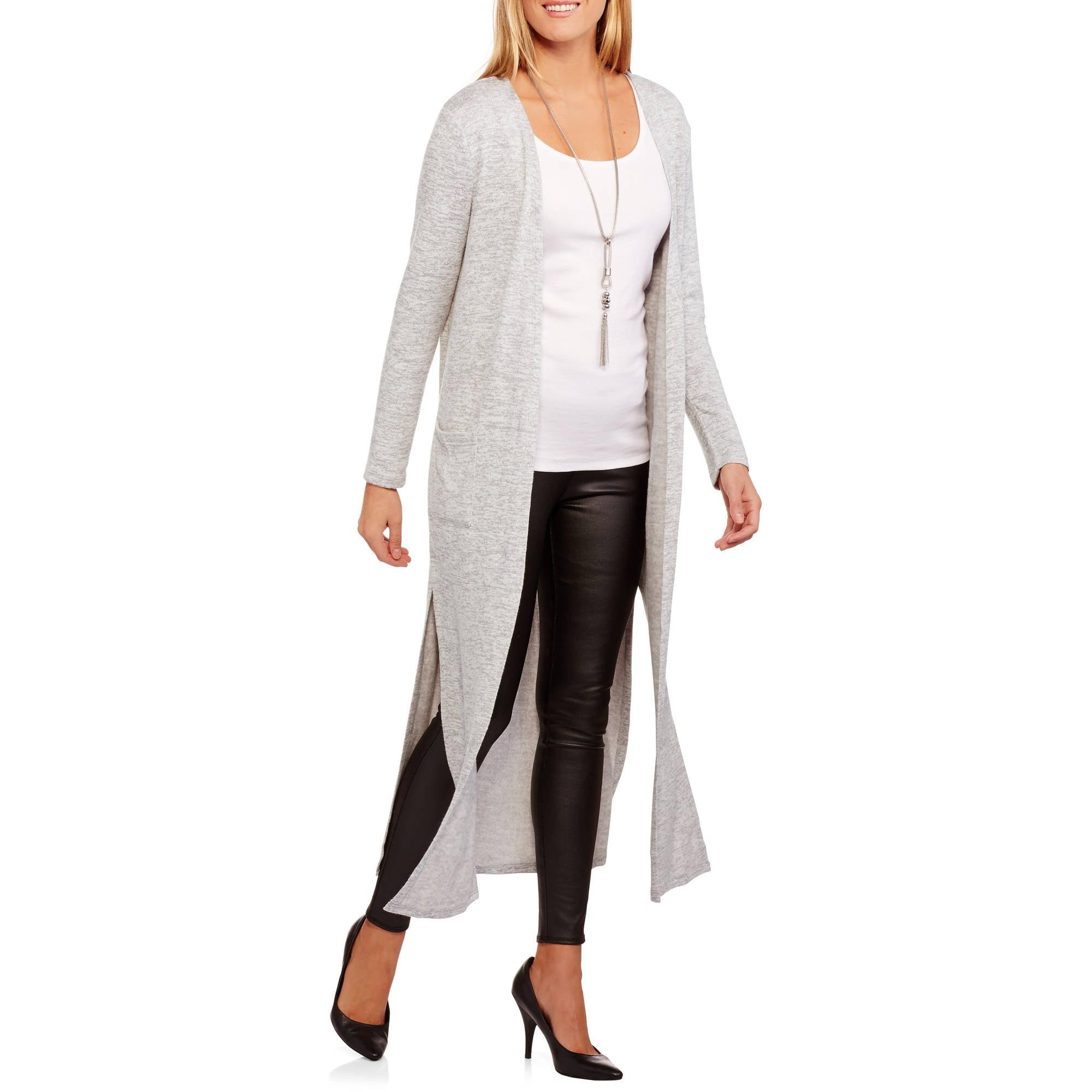 Concepts Women's Yummy Long Cardigan Sweater