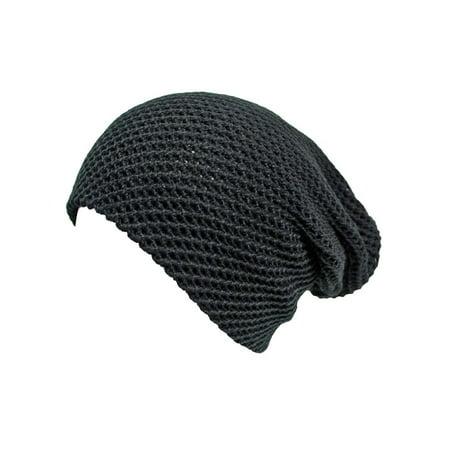 166cbde4bd9 Luxury Divas Waffle Knit Slouchy Beanie Hat - Walmart.com