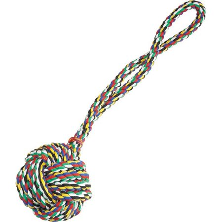 - Zanies Monkeys Fist Knot Rope 17in Mul