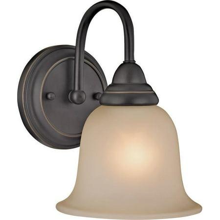 Venetian Bronze Nine Light (Boston Harbor Dimmable Vanity Light Fixture, (1) 60/13 W, Medium, A19/Cfl Lamp, Venetian Bronze )