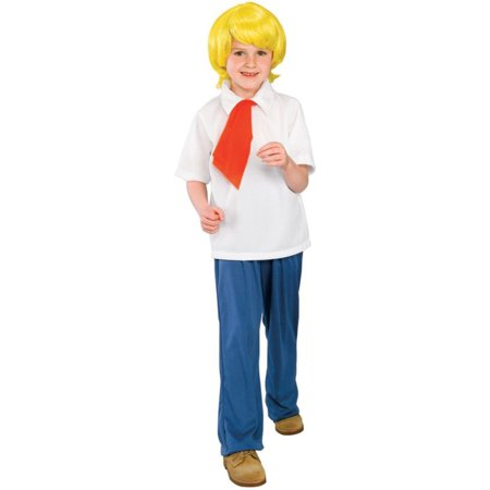 Morris Costumes Boys Scooby Doo Fred Child Lge, Style RU38962LG