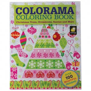Maxam XMAS COLORAMA COLORING BOOK