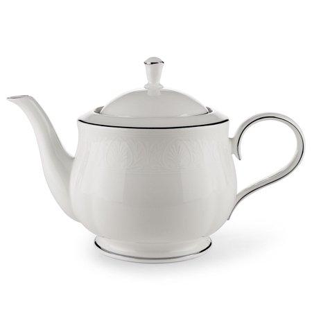Lenox Hannah Platinum Teapot With Lid