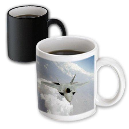 3dRose Air Force, Magic Transforming Mug, 11oz
