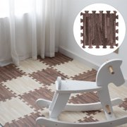 Cheers 4Pcs Square Foam Floor Mat Children Crawling Pad Living Room Bedroom Cushion