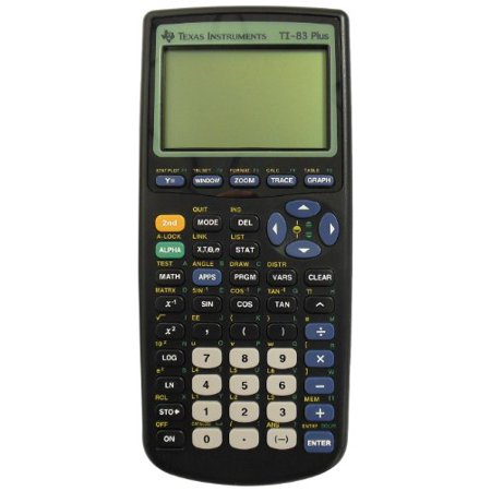 Texas Instruments 83Pl Clm 1L1 G Ti 83 Plus Graphics Calc  83Pl Clm 1L1 G