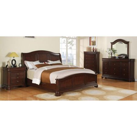 Picket House Caspian 5 Bedroom Set Low Footboard Caspian Bed 5pc Set 1356 Product Photo