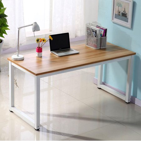 Ktaxon Computer Desk Wood PC Laptop Writing Table Workstation