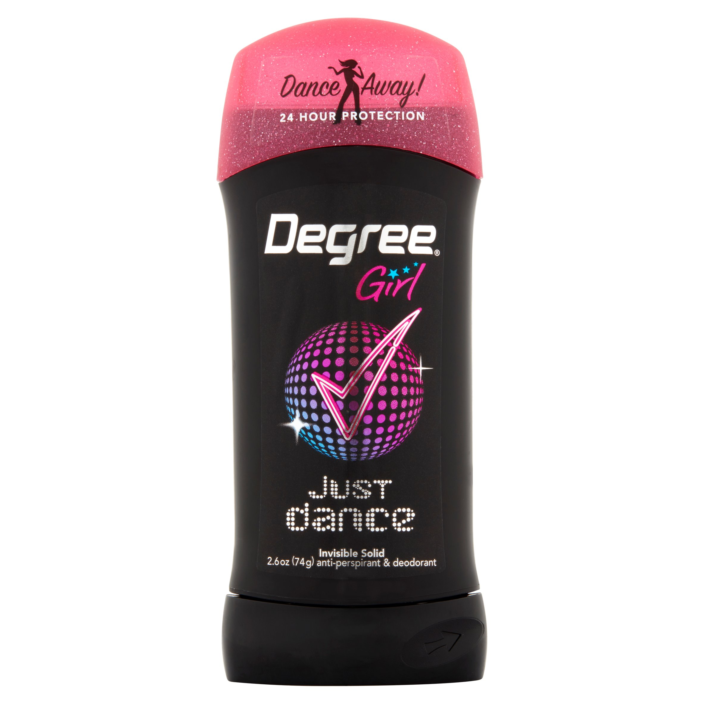Degree Dry Protection Antiperspirant Deodorant Just Dance 2.6 oz