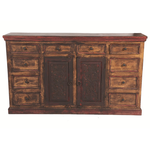 MOTI Furniture Arvada 10 Drawer Sideboard