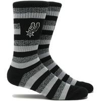San Antonio Spurs Step Crew Socks - L