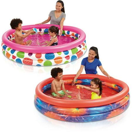 Play Day 3 Ring Pool Assortment Walmart Com