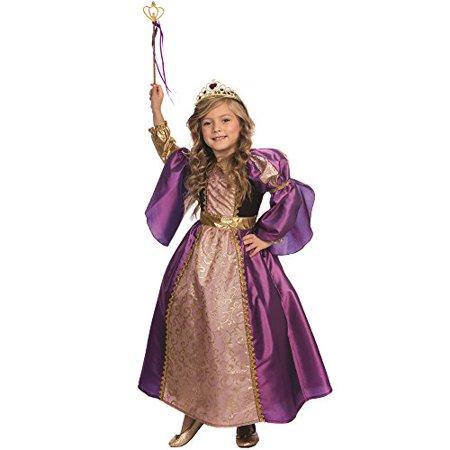 Dress Up America Purple Royalty Princess Costume   Size Large  12 14