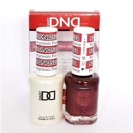 Gel Pomegranate ((Gel & Matching Polish) Set (522 - Pomegranate), Soak-off Gelcolor + Matching Polish By DND )