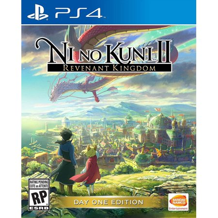 Ni No Kuni Revenant Kingdom Day 1 Edition, Bandai/Namco, PlayStation 4,
