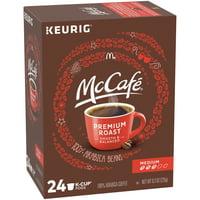 McCafe Premium Roast Medium Coffee K-Cup Pods, Caffeinated, 24 ct - 8.3 oz Box