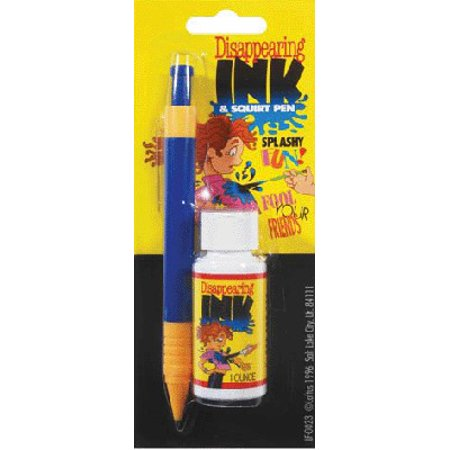 Disappearing Ink & Squirt Pen Prank