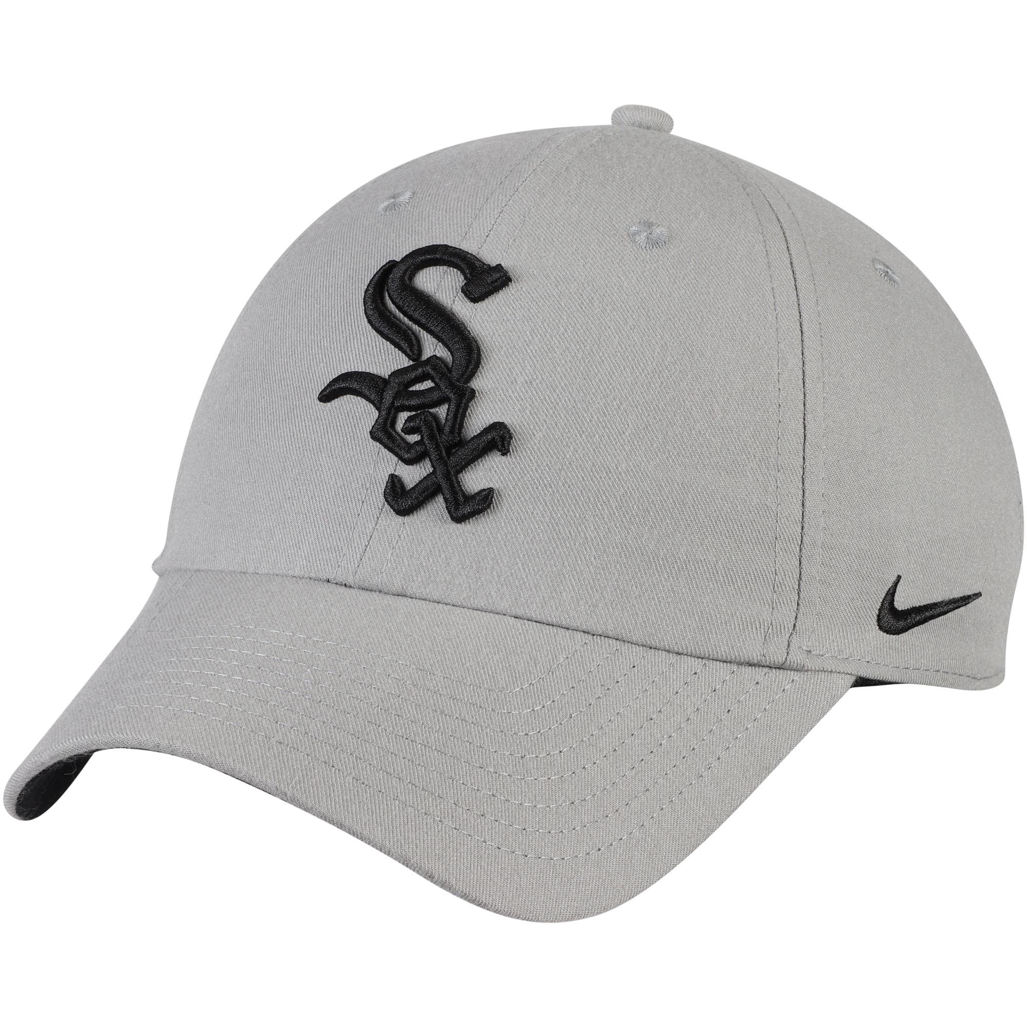 Chicago White Sox Nike Heritage 86 Stadium Performance Adjustable Hat - Gray - OSFA