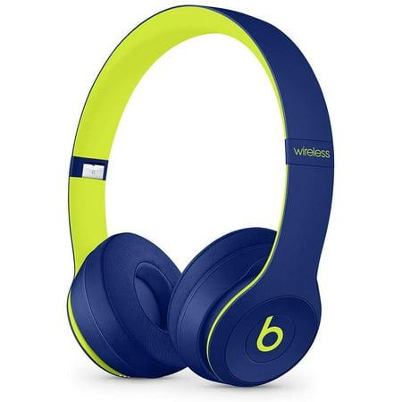 (Refurbished) Beats By Dr. Dre Beats Solo3 Wireless On-Ear Headphones - Pop Indigo