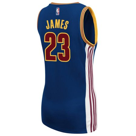 Lebron James Cleveland Cavaliers Adidas Womens Replica Jersey  Navy