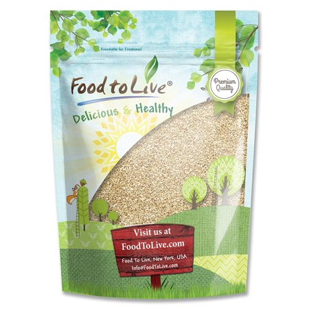 Food To Live ® Sesame Seeds (Hulled) (4