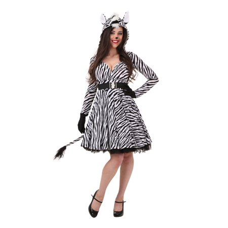 Plus Size Zebra Costume (Plus Size Women's Zebra)