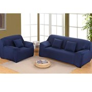 1-4 Seater Couch Sofa Covers,Stretch Seat Chair Covers Couch Slipcover Furniture Protector Lightweight Elastic Fabric Soft Couch Slipcover