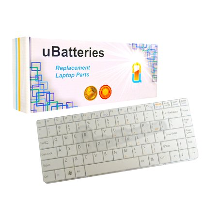 - UBatteries Laptop Keyboard Sony VAIO VGN-NR VGN-NS - White